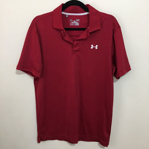 UNDER ARMOUR heat gear loose fit polo K14